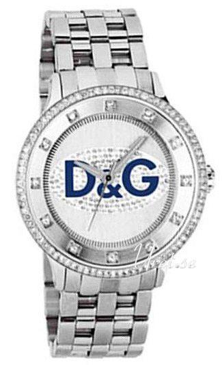 Dolce & Gabbana D&G Prime Time DW0133 Sølvfarget/Stål Ø45 - Dolce & Gabbana D&G