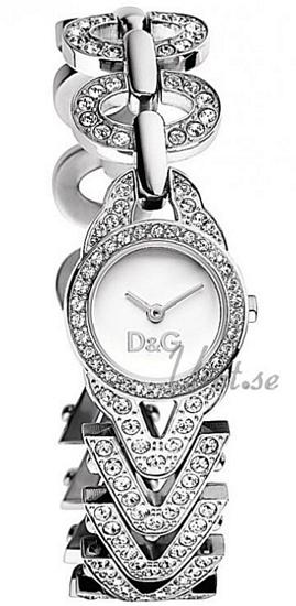 Dolce & Gabbana D&G Cactus Dameklokke DW0548 Hvit/Stål - Dolce & Gabbana D&G