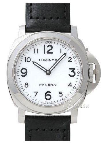 Panerai Historic Luminor Base Herreklokke PAM 114 Sort/Lær Ø44 mm - Panerai