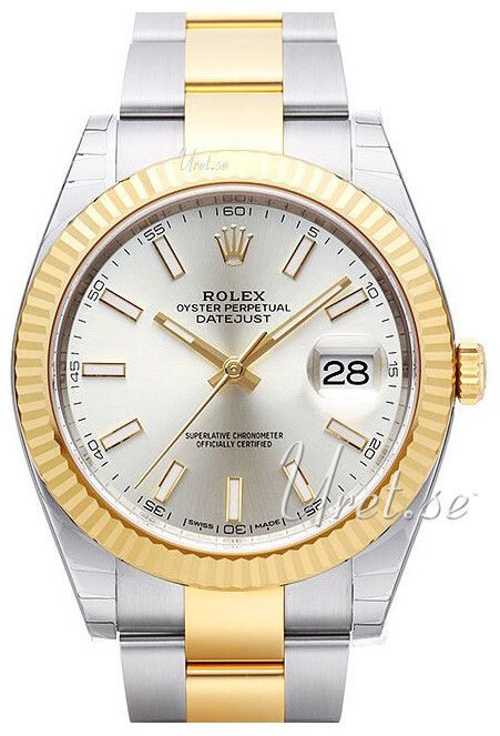 Rolex Datejust41 Herreklokke 126333-0001 Sølvfarget/18 karat gult - Rolex