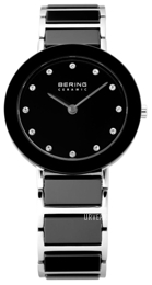 Bering Ceramic Sort/Stål Ø29 mm 11429-742