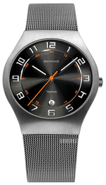 Bering Titanium Sort/Titan Ø37 mm 11937-007