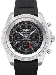 Breitling for Bentley B04 GMT Sort/Gummi Ø49 mm AB043112-BC69-220S-A20D.2