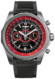 Breitling for Bentley Supersports B55 Sort/Gummi Ø49 mm E2736529-BA62-220S-E20DSA.2