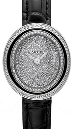 Cartier Hypnose Diamantsmykket/Lær Ø26.2 mm WJHY0009
