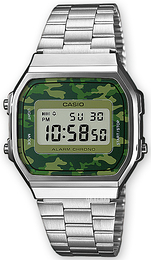 Casio Casio Collection LCD/Stål 36.3x38.6 mm A168WEC-3EF