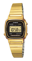 Casio Casio Collection Gulltonet stål 30.3x24.6 mm LA670WEGA-1EF