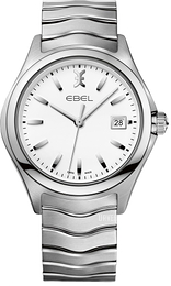Ebel Wave Hvit/Stål Ø40 mm 1216201