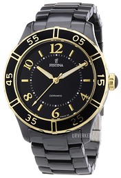 Festina Dress Sort/Keramik Ø38 mm F16633-2