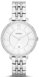 Fossil Dress Hvit/Stål Ø36 mm ES3545