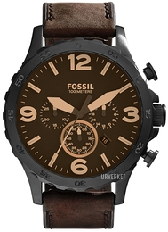 Fossil Casual Brun/Lær Ø50 mm JR1487