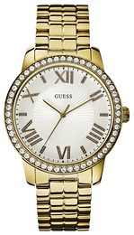 Guess Dress Sølvfarget/Gulltonet stål Ø42 mm W0329L2