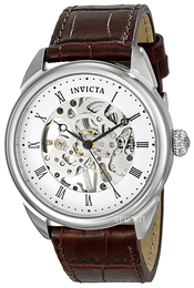 Invicta Specialty Hvit/Lær Ø42 mm 17185