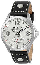 Invicta Aviator Hvit/Lær Ø44 mm 22527