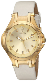 Invicta Gabrielle Union Gulltonet/Sateng Ø36 mm 23251