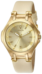 Invicta Gabrielle Union Gulltonet/Sateng Ø32 mm 23253