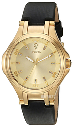Invicta Gabrielle Union Gulltonet/Sateng Ø33 mm 23256