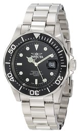 Invicta Pro Diver Mako Sort/Stål Ø40 mm 9307