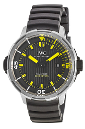 IWC Aquatimer Sort/Gummi Ø46 mm IW358001