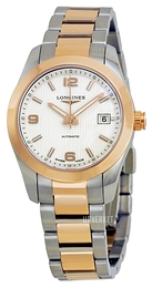 Longines Conquest Ladies Sølvfarget/Stål Ø29.5 mm L2.285.5.76.7