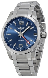 Longines Conquest Blå/Stål Ø41 mm L3.687.4.99.6