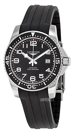 Longines HydroConquest Sort/Gummi Ø41 mm L3.689.4.53.2