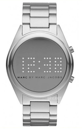 Marc by Marc Jacobs Digital Sølvfarget/Aluminium Ø42 mm MBM3528