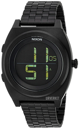 Nixon The Time Teller LCD/Stål Ø40 mm A948001-00