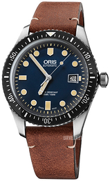 Oris Diving Blå/Lær Ø42 mm 01 733 7720 4055-07 5 21 45