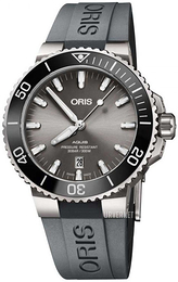 Oris Diving Grå/Gummi Ø43.5 mm 01 733 7730 7153-07 4 24 63TEB