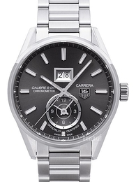 TAG Heuer Carrera Calibre 8 Grå/Stål Ø41 mm WAR5012.BA0723