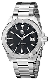 TAG Heuer TAG Heuer Aquaracer Sort/Stål Ø40.5 mm WAY1110.BA0928