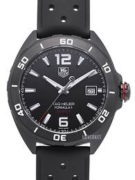 TAG Heuer Formula 1 Sort/Gummi Ø41 mm WAZ2115.FT8023