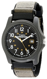 Timex Expedition Sort/Tekstil Ø39 mm T425714E