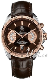 TAG Heuer Grand Carrera Brun/Lær Ø43 mm CAV515C.FC6231