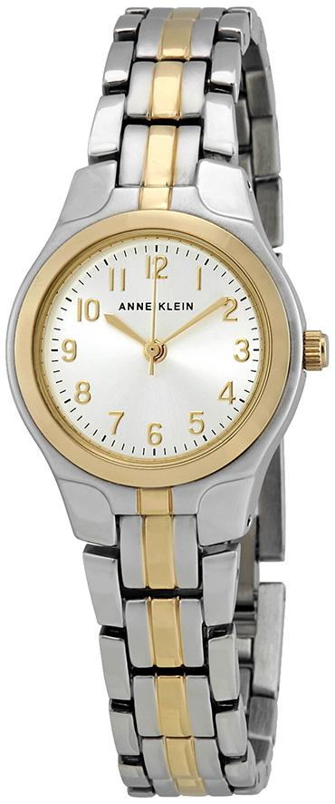 Anne Klein Dress Dameklokke 10/5491SVTT Sølvfarget/Gulltonet stål - Anne Klein