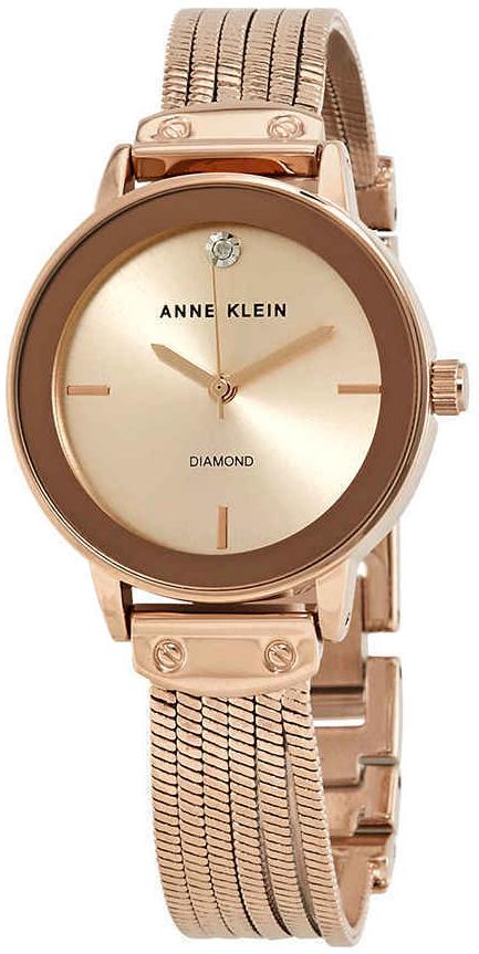 Anne Klein Diamond Dameklokke AK/3220RGRG - Anne Klein