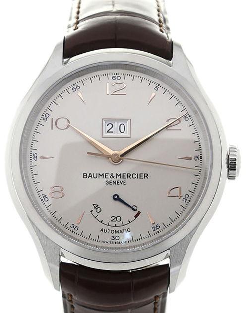 Baume & Mercier Clifton Herreklokke M0A10205 Sølvfarget/Lær - Baume & Mercier