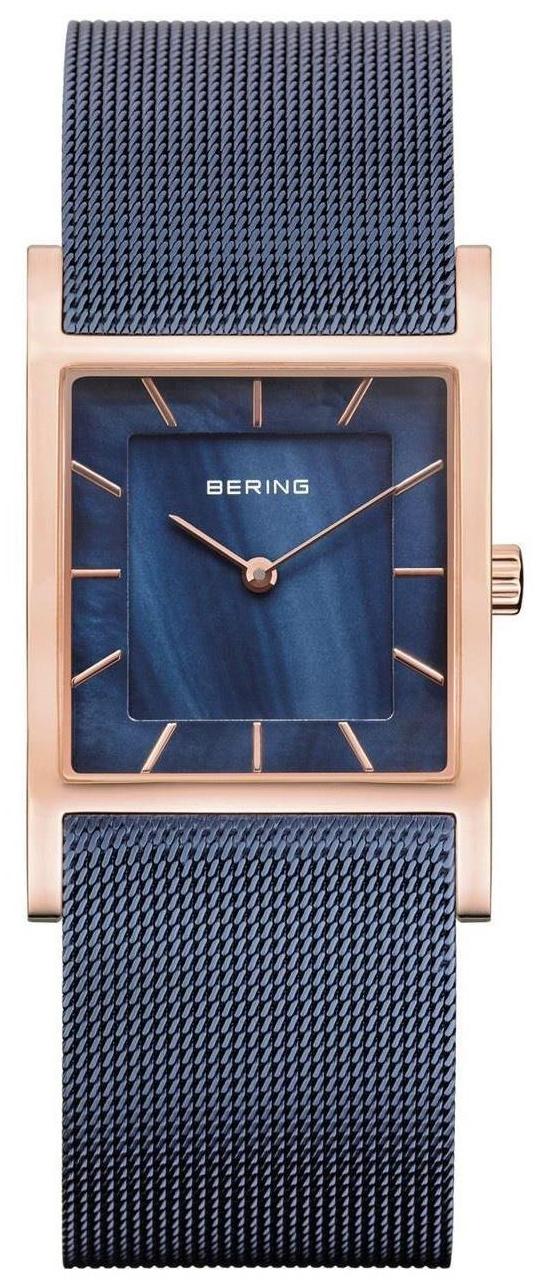 Bering Classic Dameklokke 10426-367 Blå/Stål - Bering