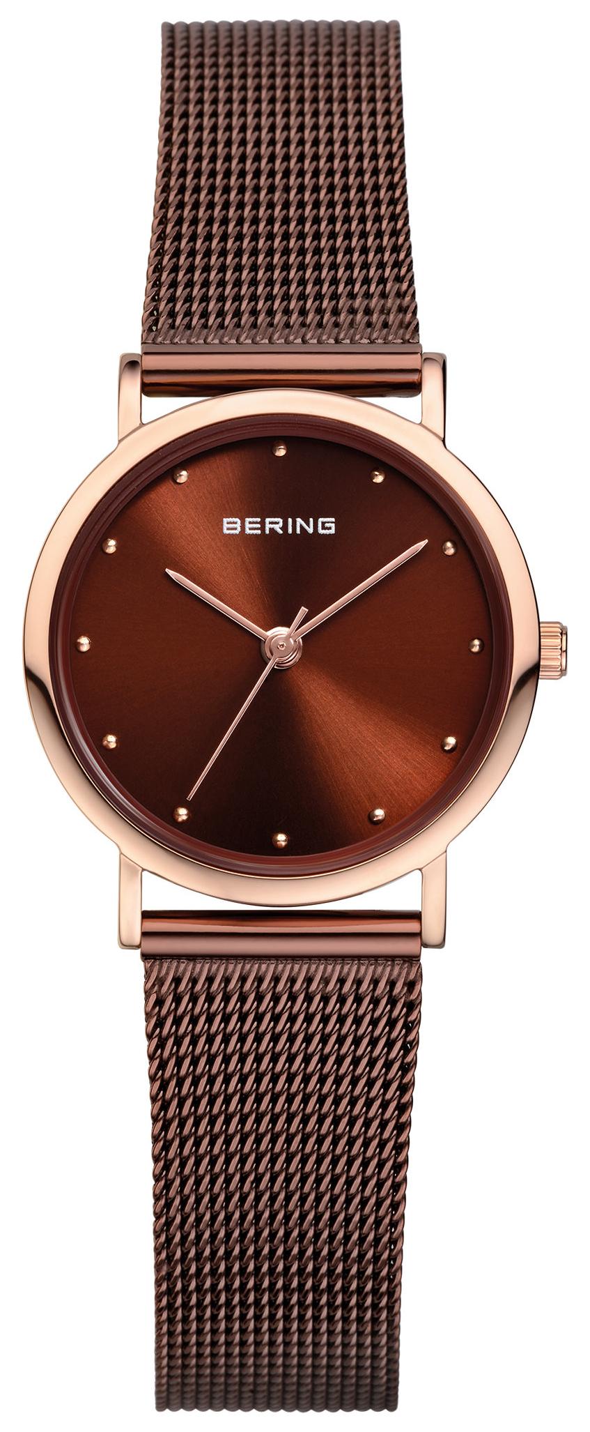 Bering Classic Dameklokke 13426-265 Brun/Stål Ø26 mm - Bering