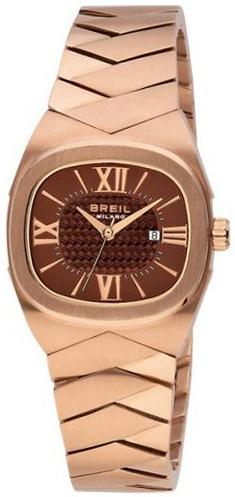 Breil Milano Dameklokke BW0286 Brun/Rose-gulltonet stål Ø31 mm - Breil