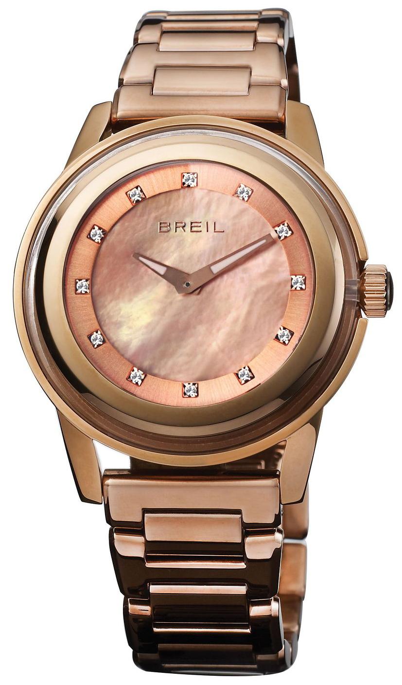 Breil Dameklokke TW1010 Rosegullfarget/Rose-gulltonet stål Ø40 mm - Breil