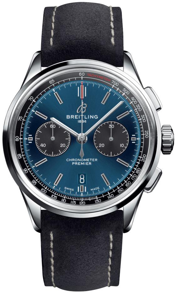 Breitling Premier B01 Chronograph 42 Herreklokke AB0118A61C1X2 - Breitling