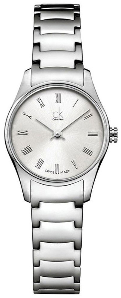 Calvin Klein Classic Dameklokke K4D2314Z Sølvfarget/Stål Ø24 mm - Calvin Klein