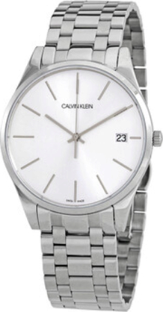 Calvin Klein Time Herreklokke K4N21146 Sølvfarget/Stål Ø40 mm - Calvin Klein