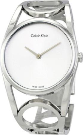 Calvin Klein Round Dameklokke K5U2M146 Sølvfarget/Stål Ø33.5 mm - Calvin Klein