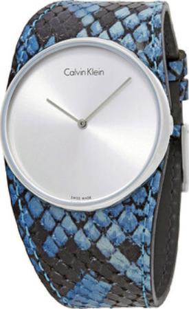 Calvin Klein Spellbound Dameklokke K5V231V6 Sølvfarget/Lær Ø39 mm - Calvin Klein