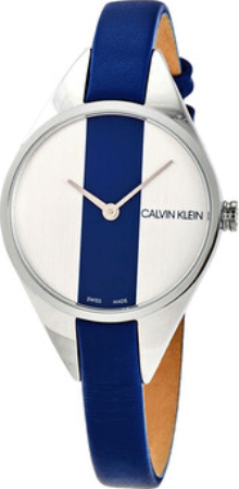 Calvin Klein 99999 Dameklokke K8P231V6 Flerfarget/Lær Ø29 mm - Calvin Klein