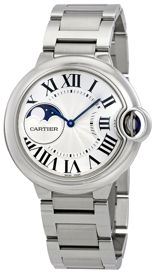 Cartier Ballon Blue WSBB0021 Sølvfarget/Stål Ø37 mm - Cartier