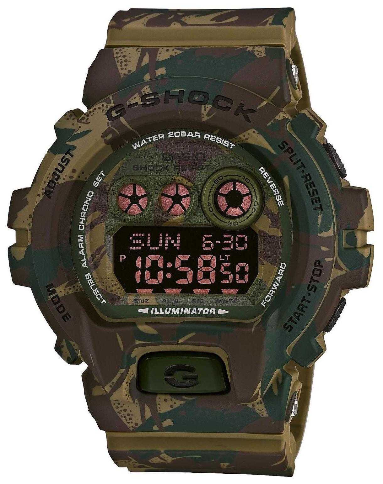 Casio G-Shock Herreklokke GD-X6900MC-3ER LCD/Resinplast Ø47 mm - Casio
